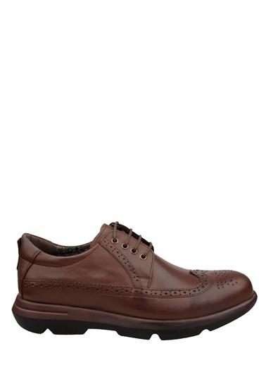 Wolfland Bağcıklı Oxford Ayakkabı Kahve